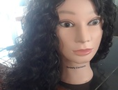 Cheap Curly Hair Synthetic Long Wig