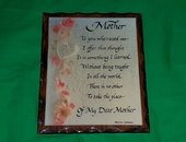 Wall Plaques 1 - Each approximately 11 inches by 9 inches