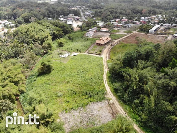 SANGRE GRANDE 2 ACRES OF LAND WITH APPROVAL FOR TOWNHOUSES-2