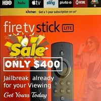 New Firestick Fully Loaded with programs