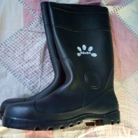 High quality steel tip Gecko rubber boots