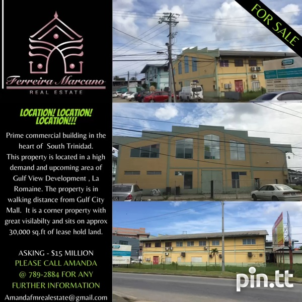 PRIME COMMERCIAL BLDG IN THE HEART OF SOUTH TRINIDAD-1