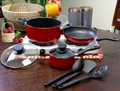 8pc Cookware Pot Set