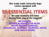 Maternity ready to go bags