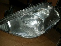 left Tiida headlight
