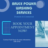 Grass cutting, power washing & upholstery cleaning services.