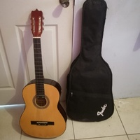 Used guitar with case