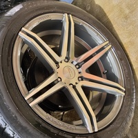 20 inch 6 hole rims and tyres