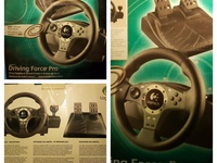 Logitech Driving Force Pro - Used