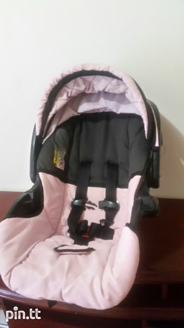 Used carseat and stroller together-1