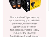 Viper alarms installed