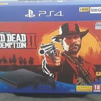 PS4 Red Dead Redemption box alone