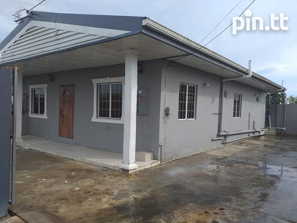 Chaguanas Unfurnished Stand Alone 3 Bedroom House-1