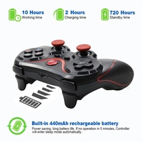 Wireless Bluetooth Gamepad for ios, android, tv, tv box, pc, ps3/ps4
