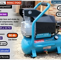Makita MAC700 2.0 HP Big Bore Air Compressor