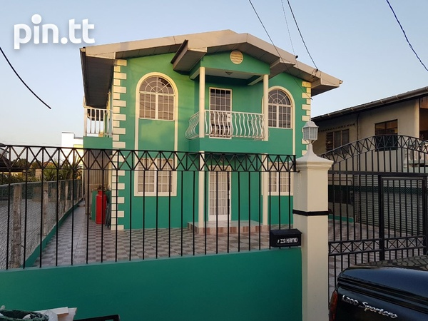 4 bedroom, two storey house