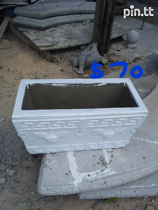 Concrete trough-1
