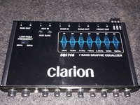 Clarion 7 Band Graphic Equalizer