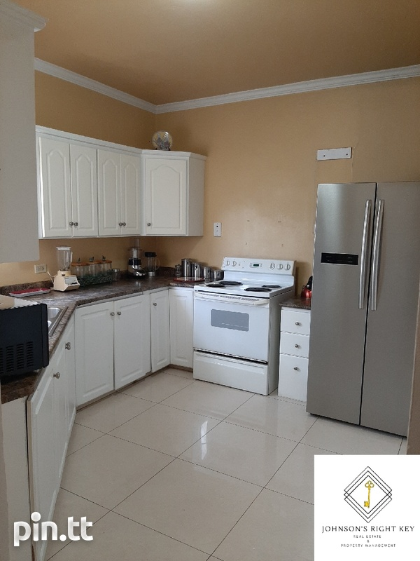 Trincity 2 Bedroom Furnished Townhouse-1