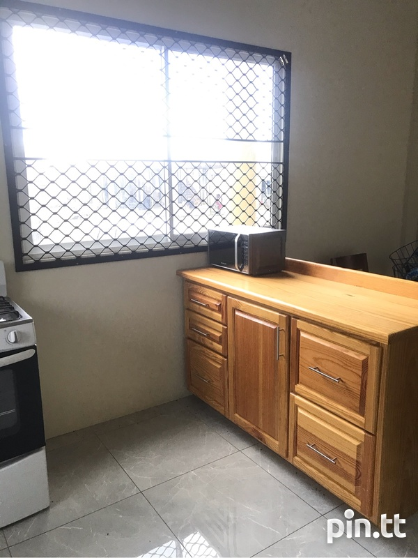 Couva 1 bedroom fully furnished apartment-7