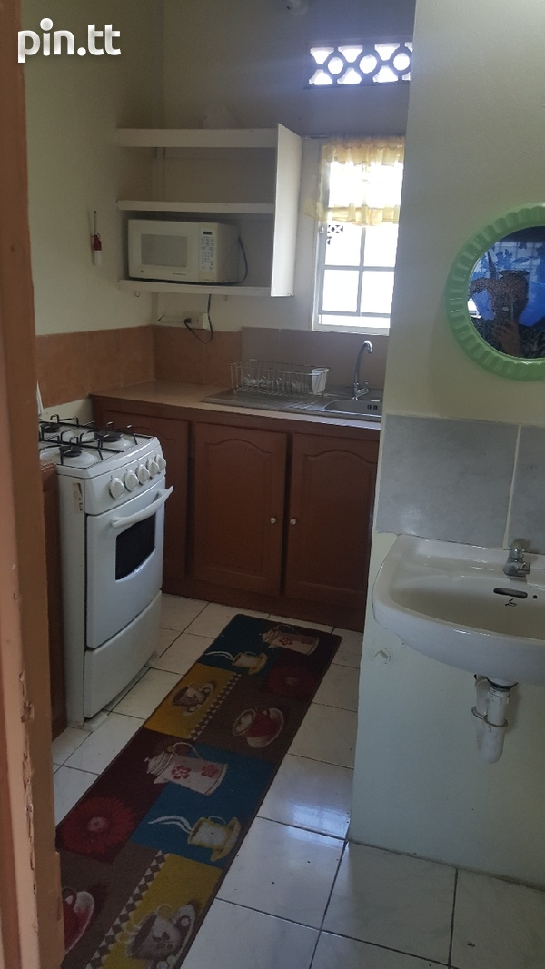 1 BEDROOM FULLY FURNISHED APARTMENT ARIMA UTILITIES,CABLE,WIFI INCLUDE-3