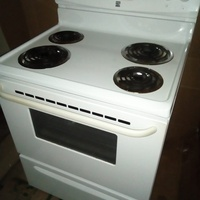 Electric Stove and Hood