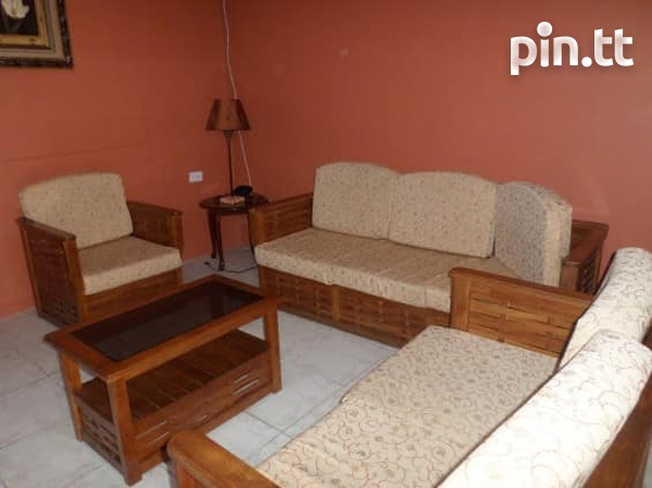 Couva Furnished 1 Bedroom Apartment-1