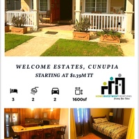Welcome Estates, Cunupia House with 3 Bedrooms