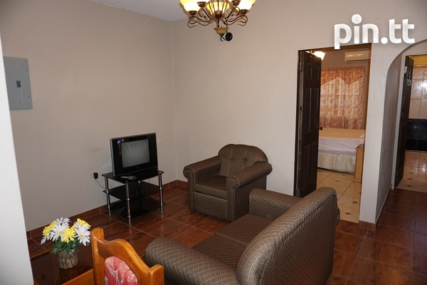 Fully Furnished Piarco One Bedroom Apartment-8