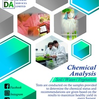 Chemical Analysis for Soil, Water, and Vegetation.