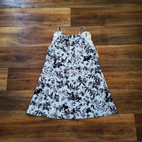 A-Line Floral Mini Dress Size 6