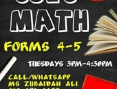 CSEC math classes