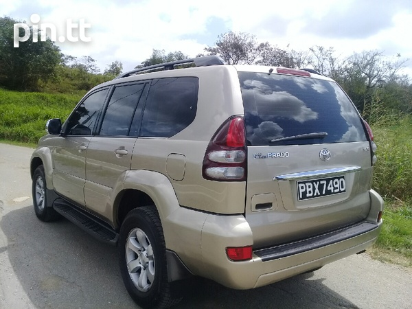 Toyota Land Cruiser Prado, 2005, PBX-2