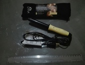 Mini ceramic curling iron