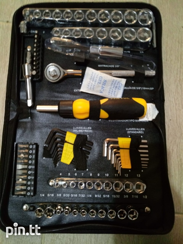 Pretul 85 piece mechanic tool kit-5