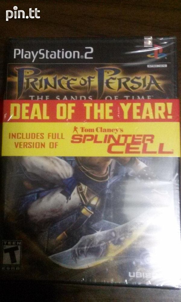Prince of persia/Splinter cell PS2-1