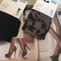 New Black Tights. Size Small and Medium