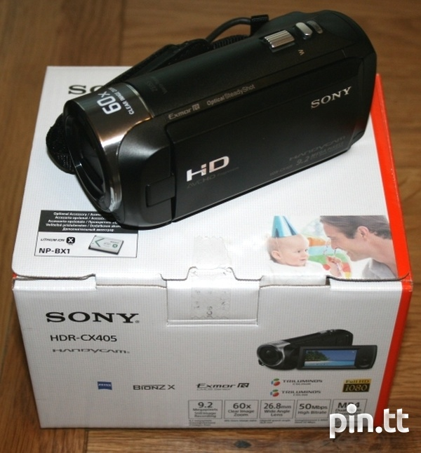 Sony HDR-CX405 Video Camera-2