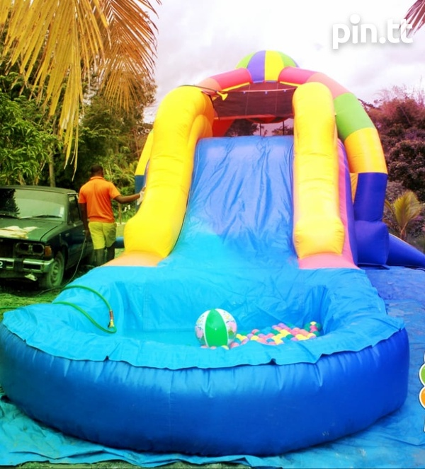 Wet/Dry bounce house and water slide-8