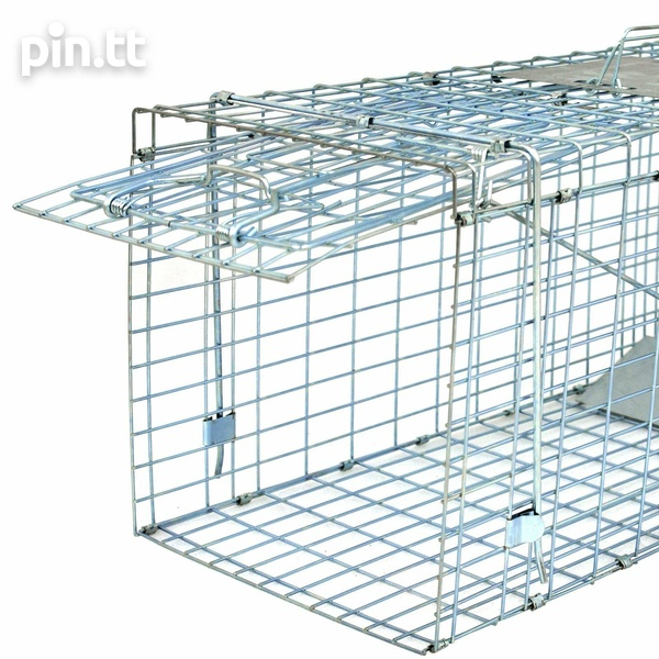 Animal Trap Large Rodent Steel Cage-4