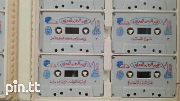 Quran on cassette and c.d-8