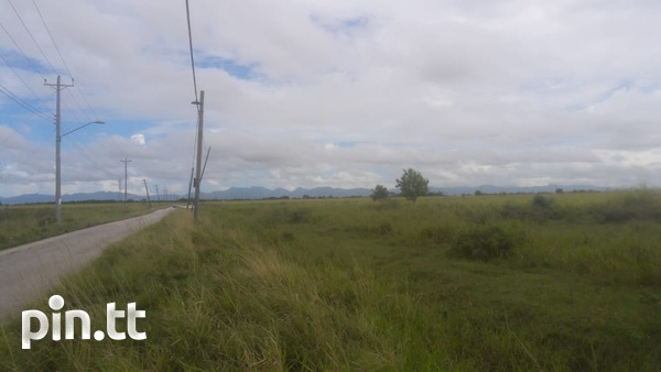 2 Acres Caroni Agricultural land. Main Road Perseverance.-6