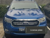 Ford Ranger, 2019, TDY