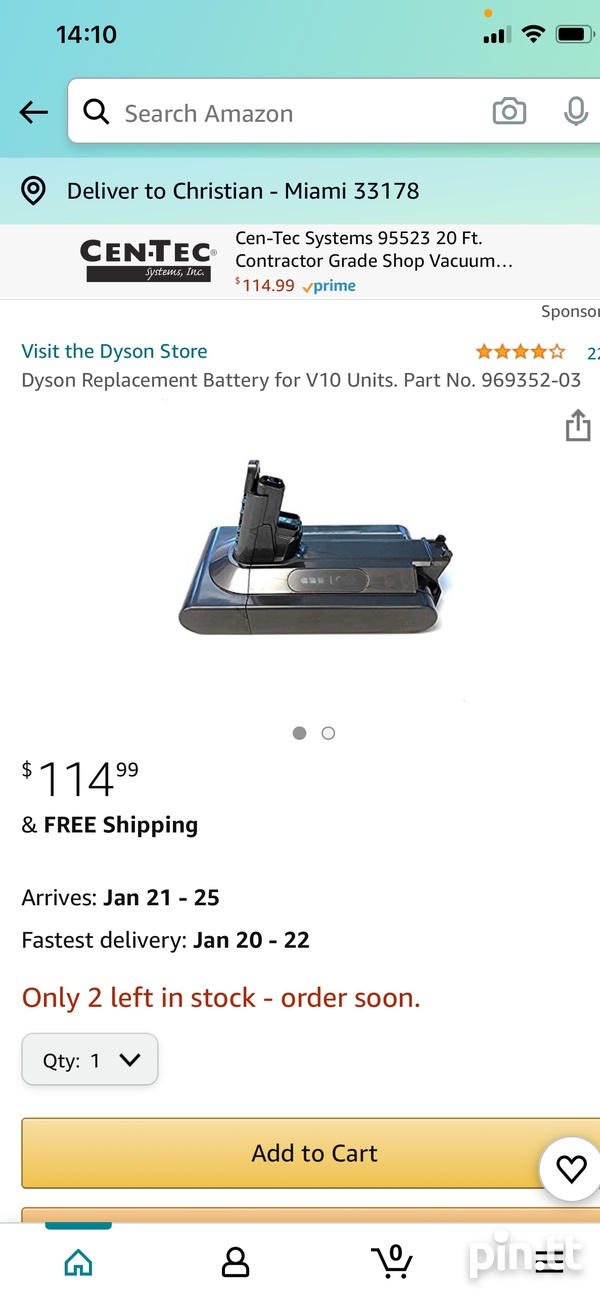 Dyson V10 OEM Battery - BRAND NEW-4