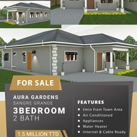 3 Bedroom Sangre Grande Houses