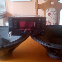 speakers and usb deck