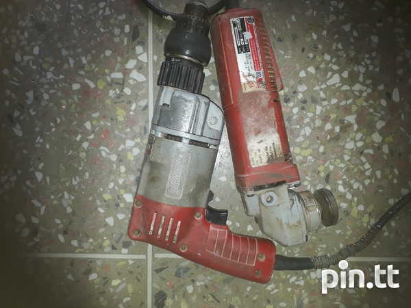 Two Milwaukee hand tools that can be repaired or used for spare parts-2