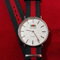 White Gucci Watch Unisex