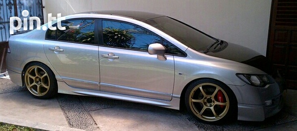 Honda Civic 2009 Body Kit-2