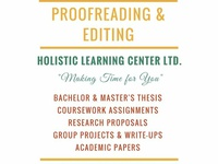 Proofreading, Editing Services